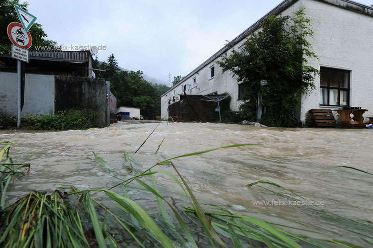Hochwasser – auch in Laimnau