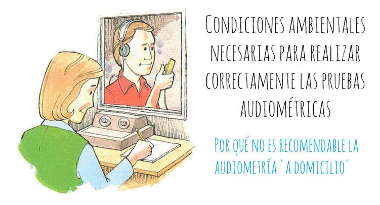 Cabina audiométrica de un Centro Auditivo especializado. Centro Auditivo Cuenca.