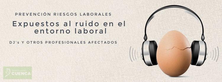 DJ's forman parte de los profesionales más afectados por el ruido en el entorno laboral.