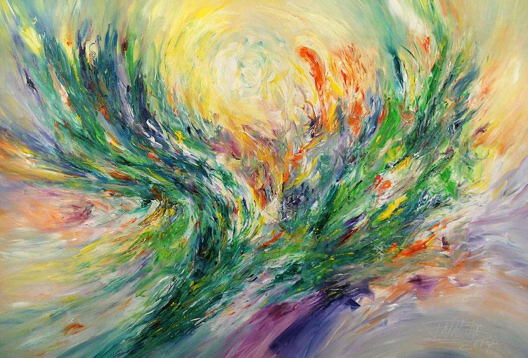 Moderne, abstrakte Malerei