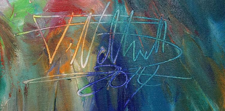 Große moderne Malerei