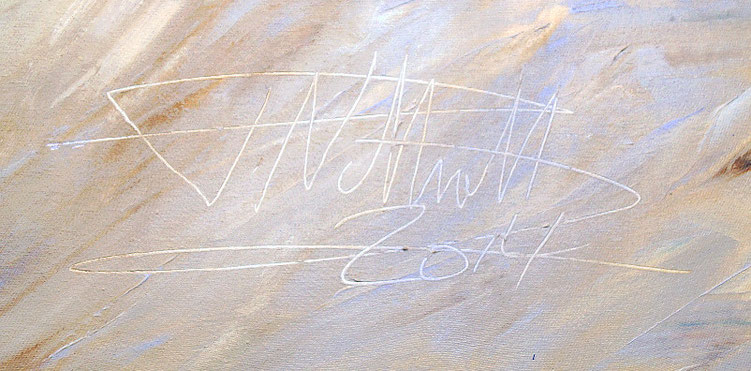 Moderne Kunst vom Kunstmaler Peter Nottrott.