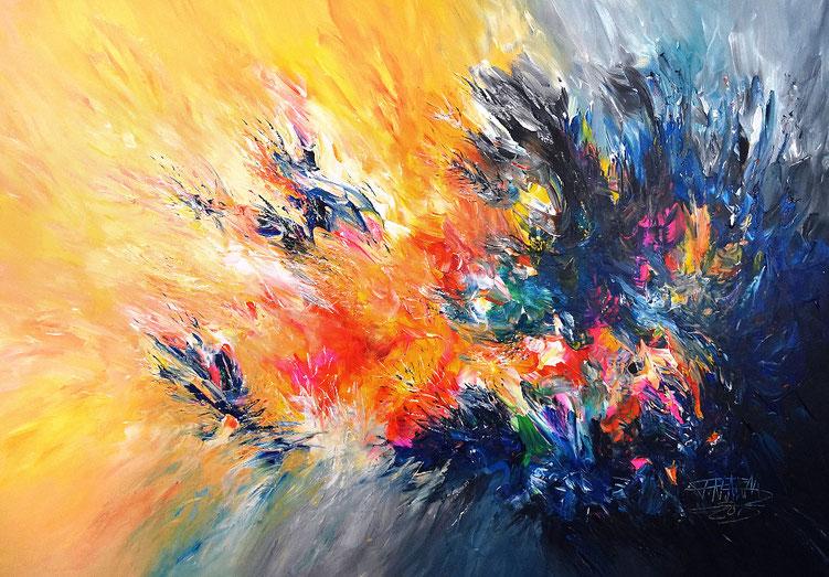 Modernes Gemälde. Original