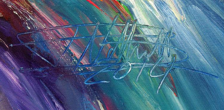 Kunstmaler Peter Nottrott, Signatur