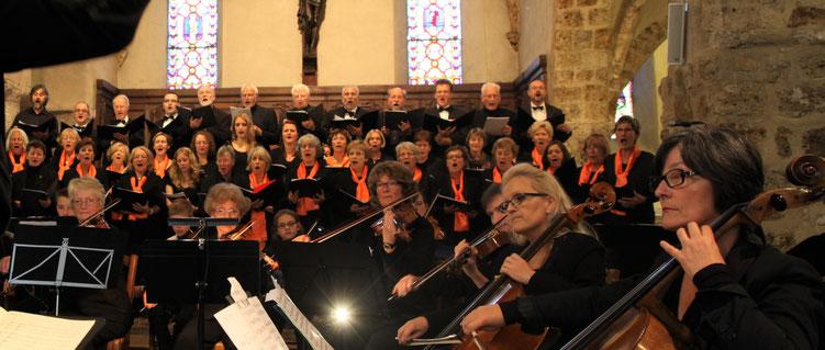 Concert à l'église du Mesnil St Denis