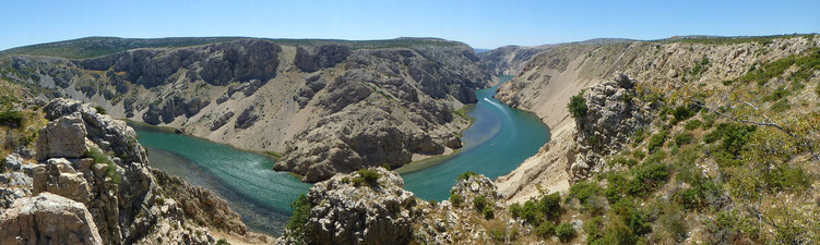Zrmanja am Plateau Pueblo
