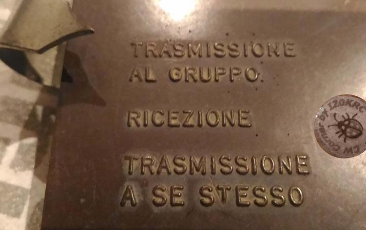 STIRE Italian learning key/set - selector writes