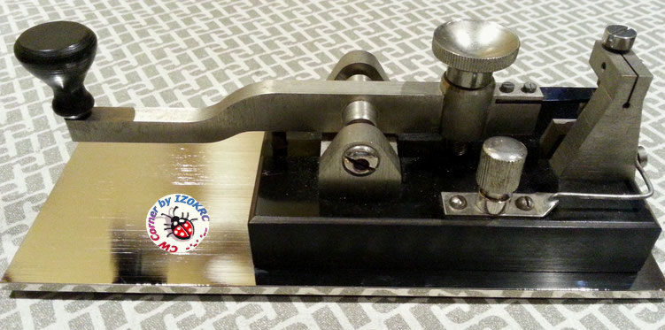 Ericsson Swedish long lever key - SRA / Navy Type