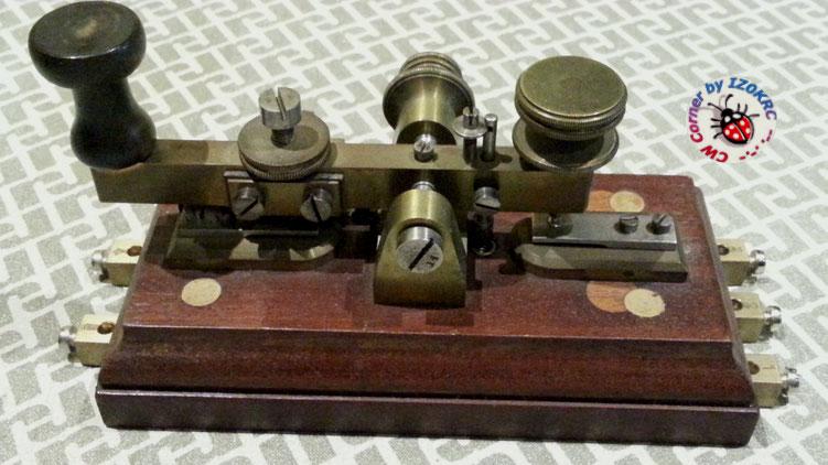 Hasler Telegraph key  for Duplex morse system