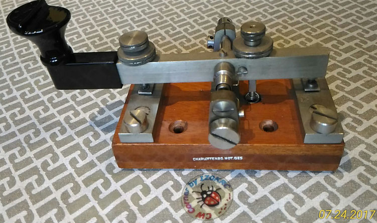 CHARLOTTENB. MOTOR .GES.   -   LUFTWAFFE TELEGRAPH KEY