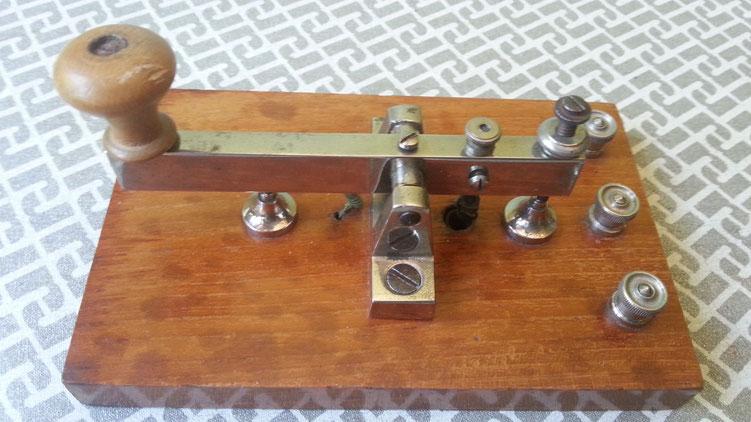 Leybold Telegraph key   -   1910-20