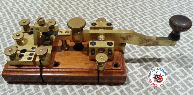 Öller Telegraph key 1857