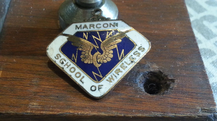 AWA - Marconi Wireless School of Australia Pin.