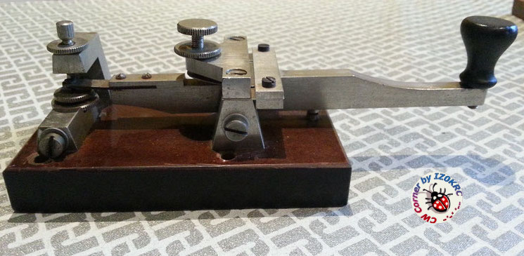 Ericsson Swedish long lever - Military Pumped key