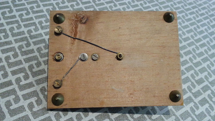 Teaching morse key made by PERICAUD, France.
