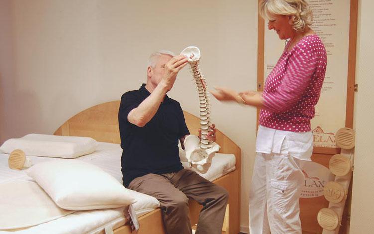Auf den Körper abgestimmte Matratzen bieten idealen Liegekomfort