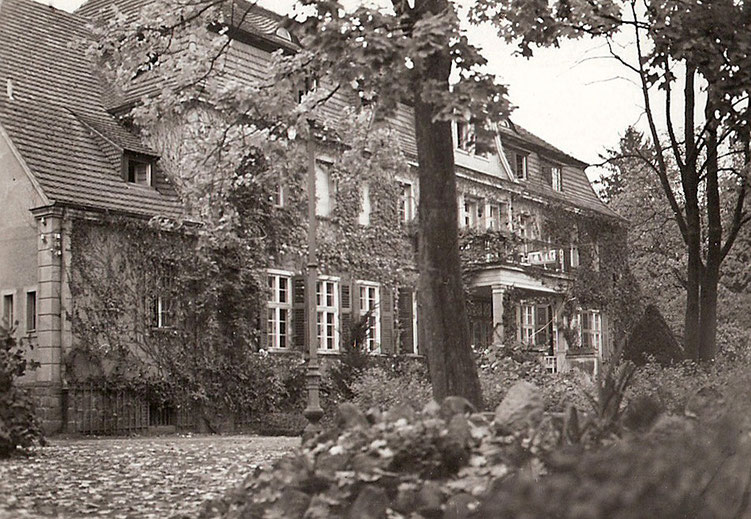 Herrenhaus in Rauschendorf ci. 1930