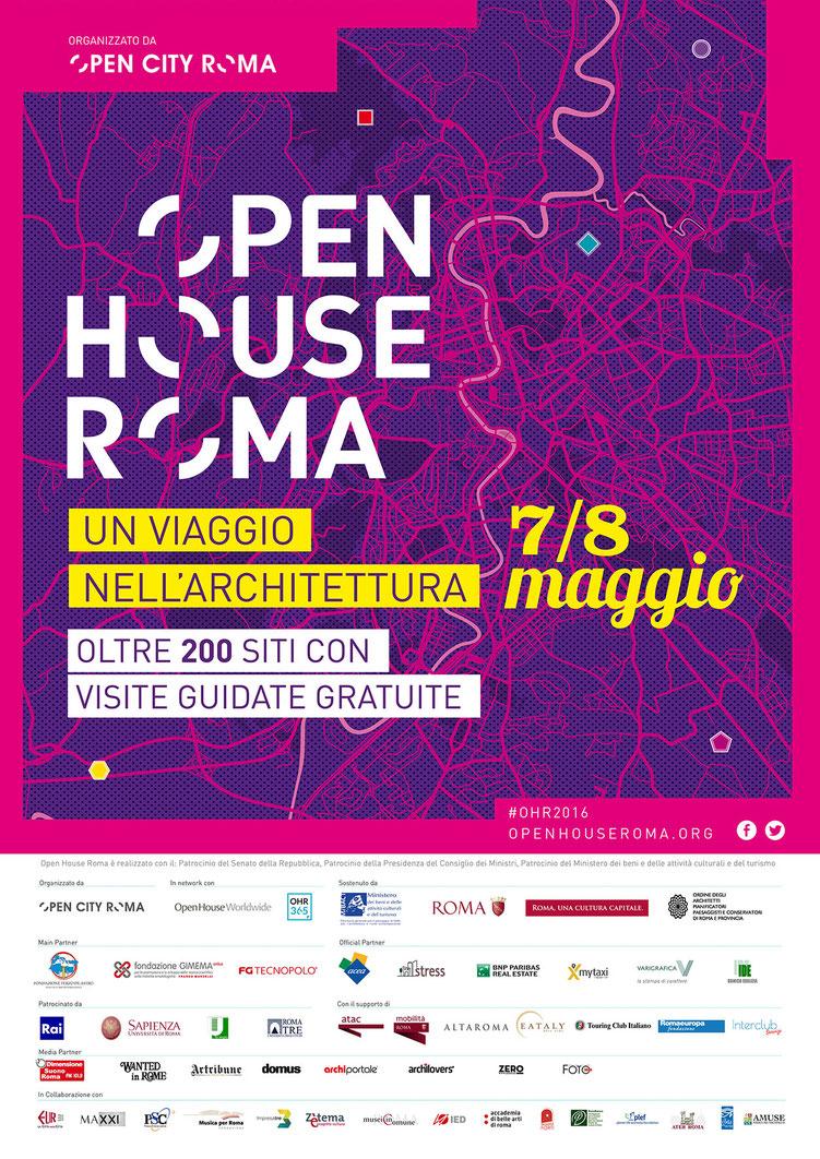 V edizione di Open House Roma