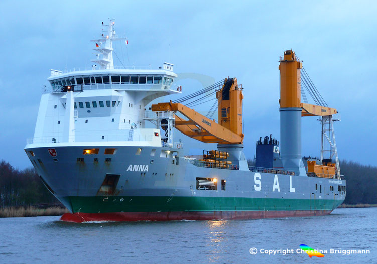 SAL Heavy Lift Schwergutfrachter ANNA,
