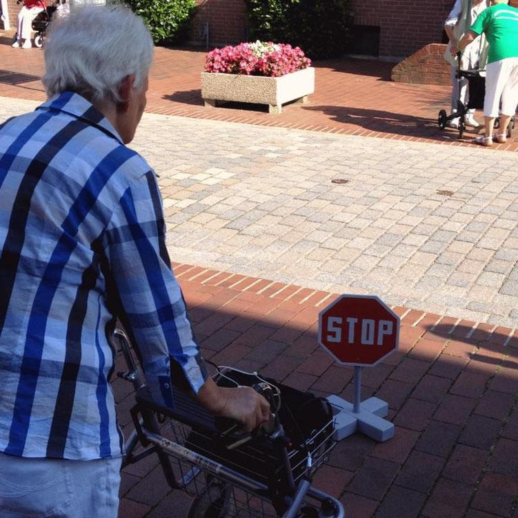Seniorinnen setzen die Tipps um