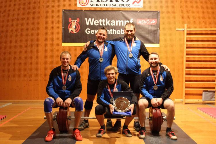 Mannschaft KSC Bad Häring/Kufstein (Platz 2 Nationalliga 2018)