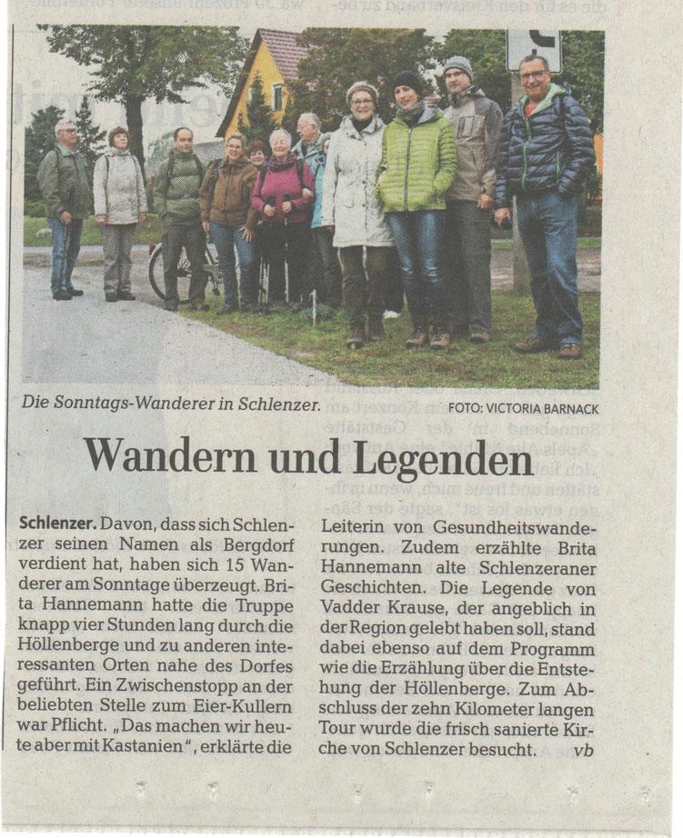 MAZ 19.10.2015 Wanderung Höllenberge