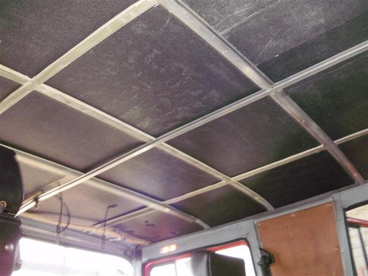 Decke und Seiten mit X-treme Isolator verkleidet