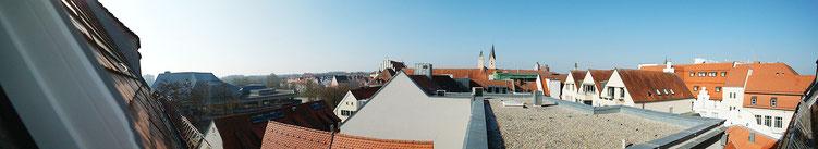 Ausblick über die Dächer der Altstadt.