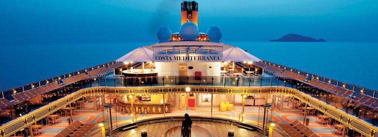 Costa Kreuzfahrten mit Costa Mediterranea Nordsee Nordeuropa im Sommer, Mauritius Seychellen im Winter 2019 Frühjahr 2020 (c) Costa Crociere S.p.A.  Genua
