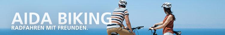 AIDA Fahrradtour als Ausflug für Aktive AIDA Kanaren & Lanzarote, Fahrräder leihen für Tagestouren Mallorca, Radfahren Mountainbike & E-Bikes  (C) AIDA Cruises