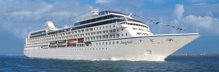Weltreise MS Insignia 2019 buchen