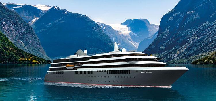 Kreuzfahrten mit World Explorer von Nicko Cruises bei reiselotsen buchen