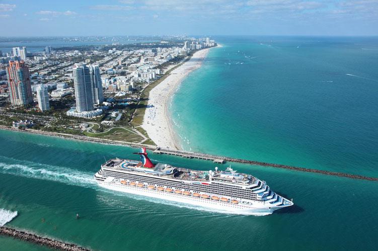 Kreuzfahrt mit Carnival Cruise Line ab Florida Port Canavaral Bahamas Kurzreisen Kreuzfahrt Karibik