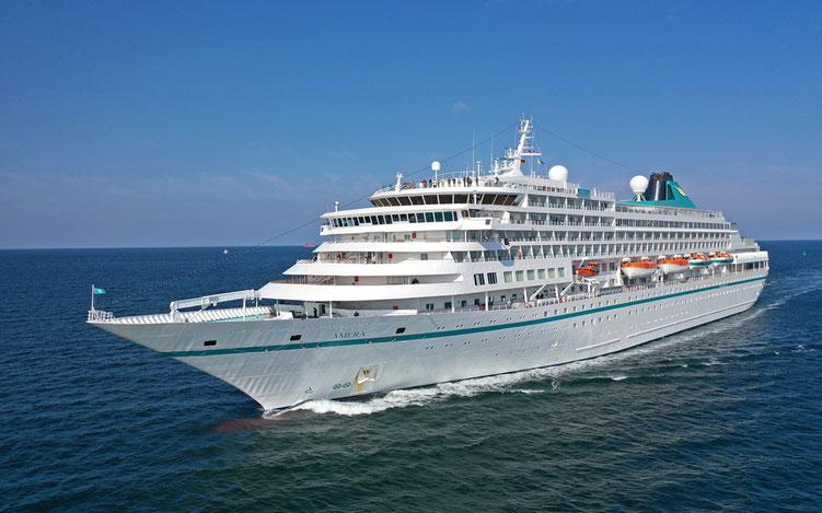 Ihr Kreuzfahrtschiff für die Amera Weltreise 2019 und Amera Weltreise 2020 (c) Phoenix-Reisen