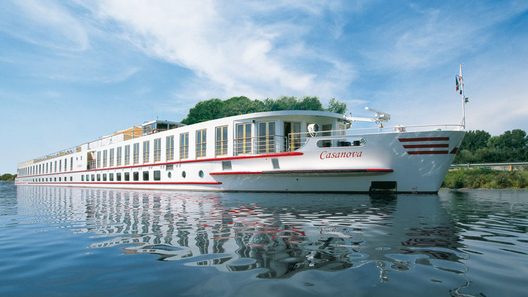 Flusskreuzfahrten auf dem Rhein mit Nicko Cruises und MS Casanova