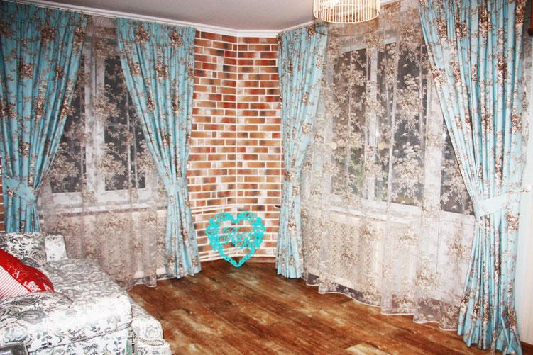 шторы для гостиной, ткани Soto grande