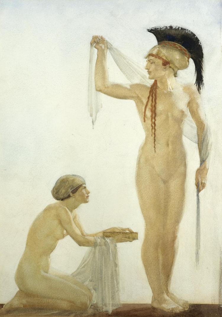 "W.R. Flint, ""Pallade Atena"" (1915)"