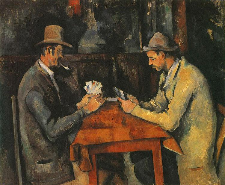 """Paule Cézanne, """"I giocatori di carte"""" (1890-95)"""