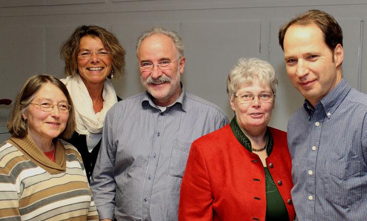 Die Mitglieder des seit 2014 amtierenden Kirchengemeinderats im Jahr 2015 (Foto: W. Behrens)