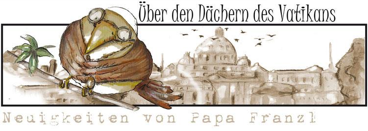 vatikan,papst,schräge vögel,papa franzl,ottbyrds,ilka walter,rom,news,mönchsgrasmücke