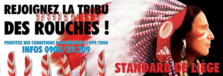 Standard de Liège / Campagne Abonnement 1999/2000   /  © Chris Renault 1999