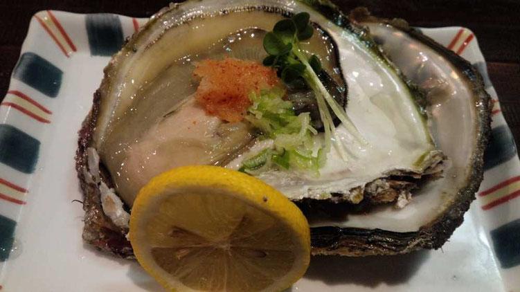 東伏見の美味しい牡蠣