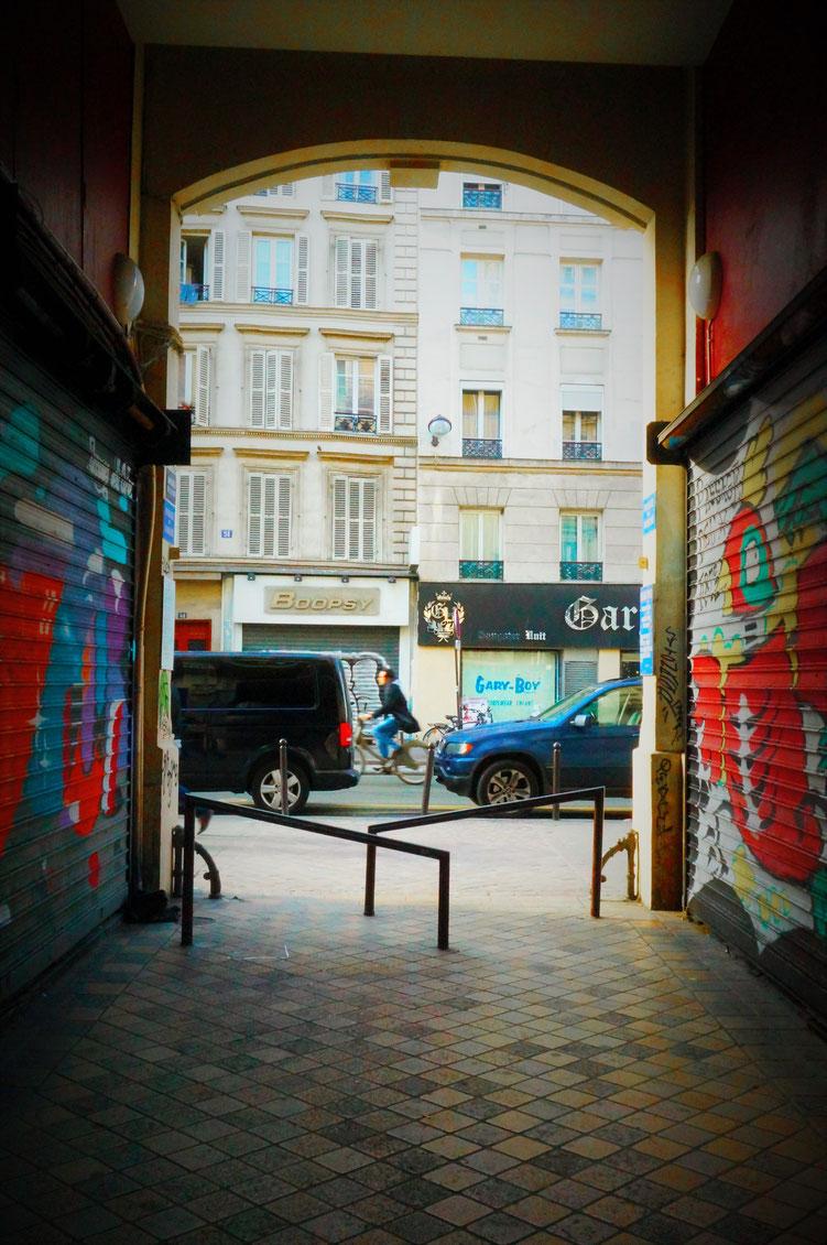 Passage du Marché dans le 10ème arrondissement de Paris
