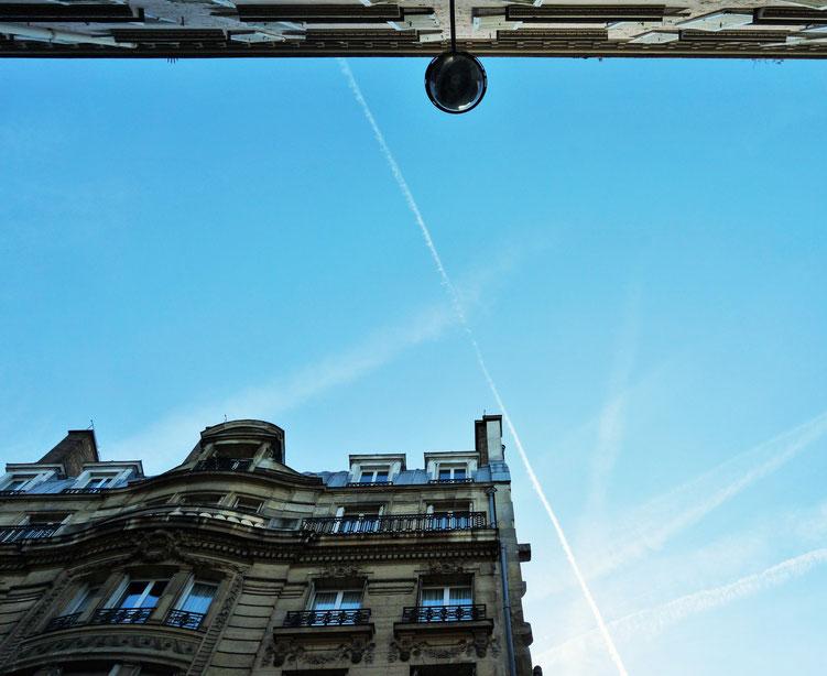 Façade parisienne dans le 10ème arrondissement de Paris