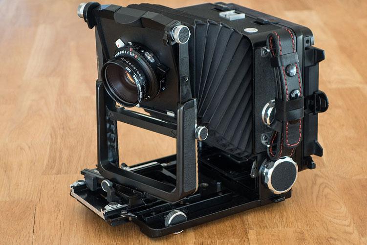 Praxisbericht zur WISTA 45SP. Welche Verstellungen sind mit der Laufbodenkamera möglich? Foto: bonnescape.de
