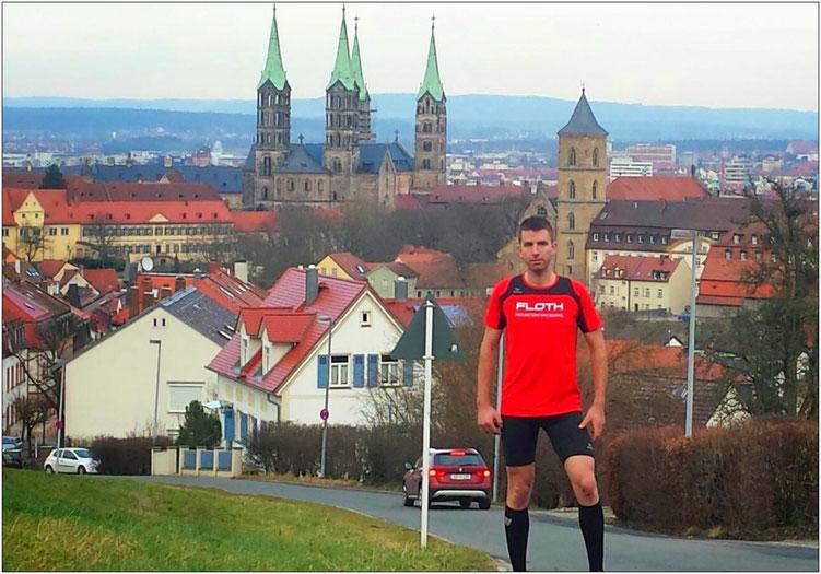 Im schönen oberfränkischen Bamberg zu Hause. Bildquelle: Julia Derbfuß