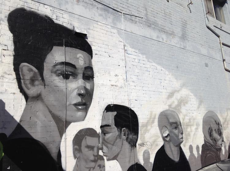 Street art Perth Australia