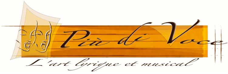 logotype de l'association Piu Di Voce basée à Plazac