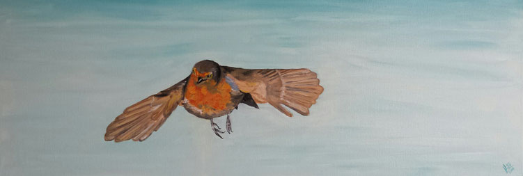 23.Fly away 30x80 cm