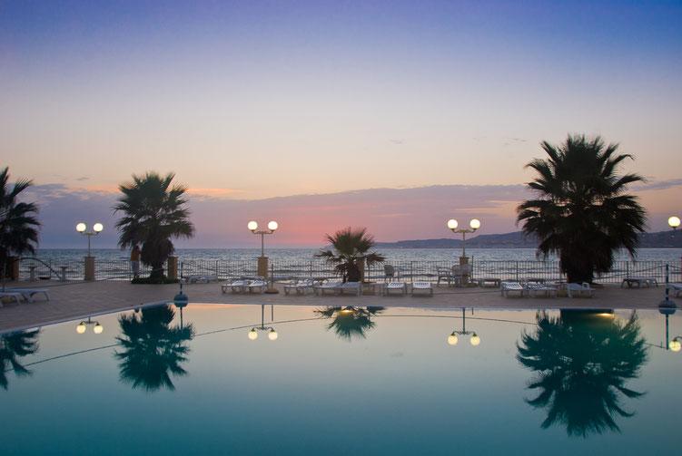 Blauwe uurtje Sicilië